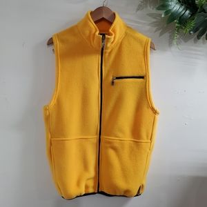 BOGO Sale! Russell Athletic Yellow Polyester Vest size medium